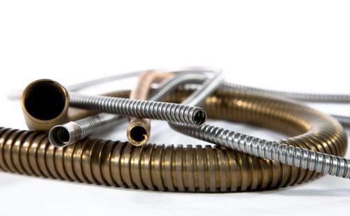 Image d'illustration du produit Mangueira de metal em espiral